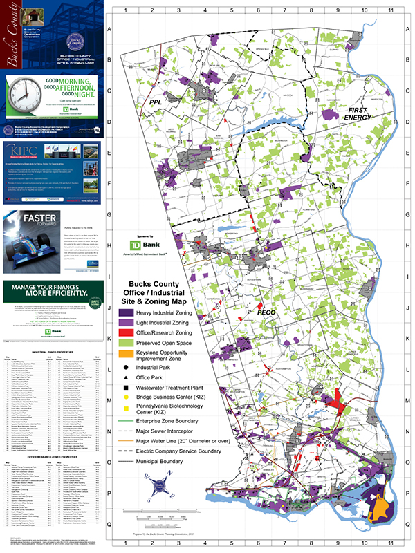 BCEDC map 2011 front